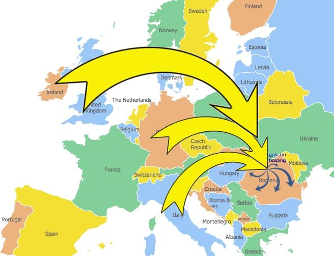 Geo-map-europeharta site